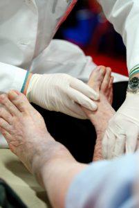 Diabetic Neuropathy Foot Examination